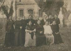 Empaquetadoras de la Fábrica de Tabacos de A Coruña en 1916.