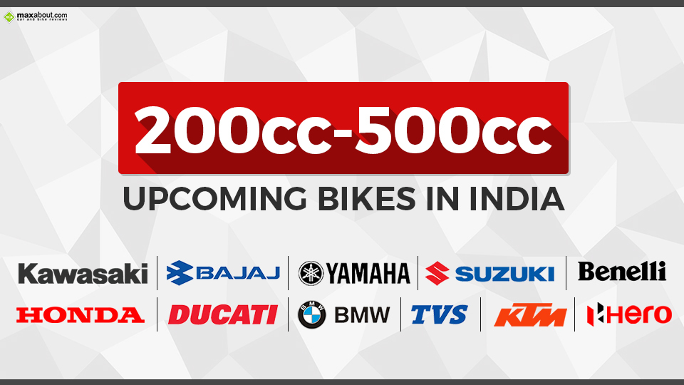 Most interesting Upcoming Bikes in India