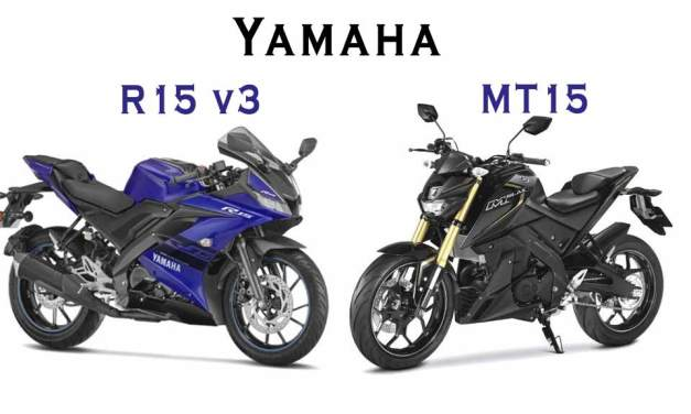Yamaha MT 15 vs Yamaha R15 v3 detailed Comparison