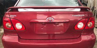 Red & Black Toyota Corolla Sport Price Cut Offer