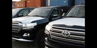 Who owns these brand new bulletproof Toyota SUVs