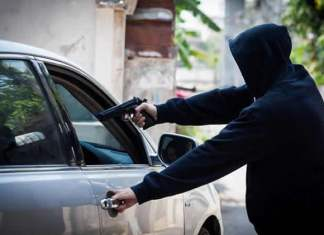 Lagos traffic robbery