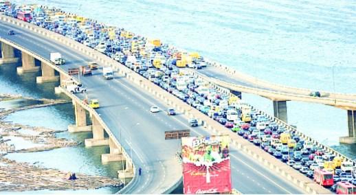 driving off Lagos traffic