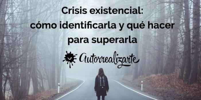 Falta de autoestima y crisis existencial