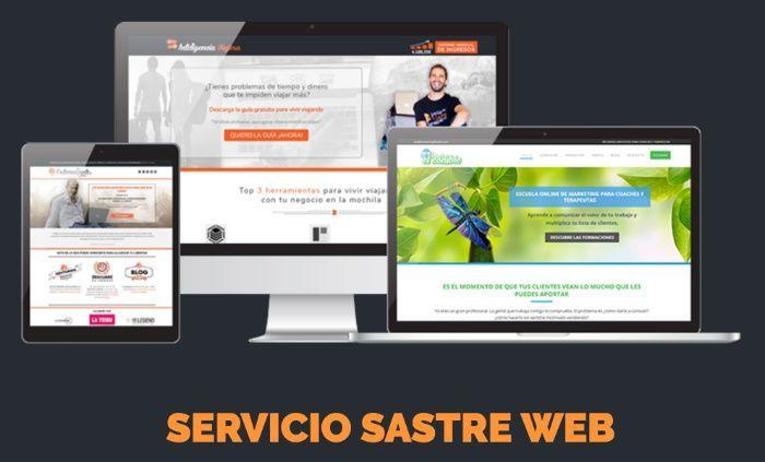 Servicio Sastre Web