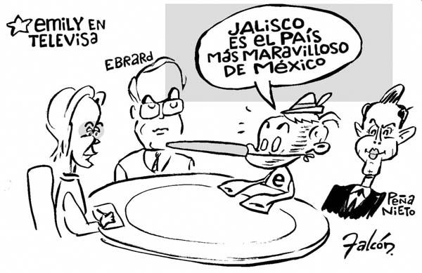 Emilio González Márquez y la comunicación: Jalisco no está