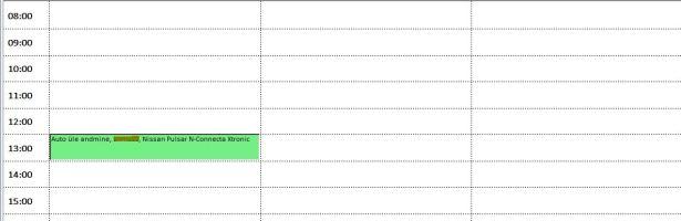 Ressursside planeerimise kalender