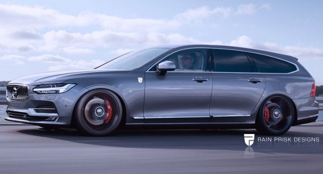 Volvo-V90 Station Wagon 2017