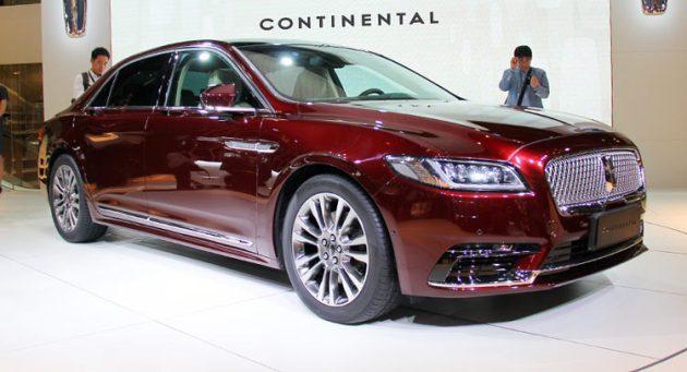 Lincoln Continental 2017