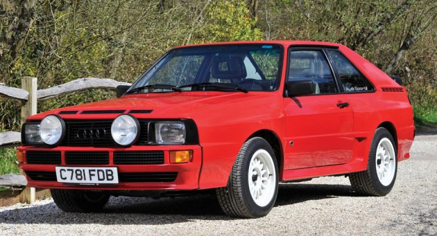 Audi Quattro Sport 1986