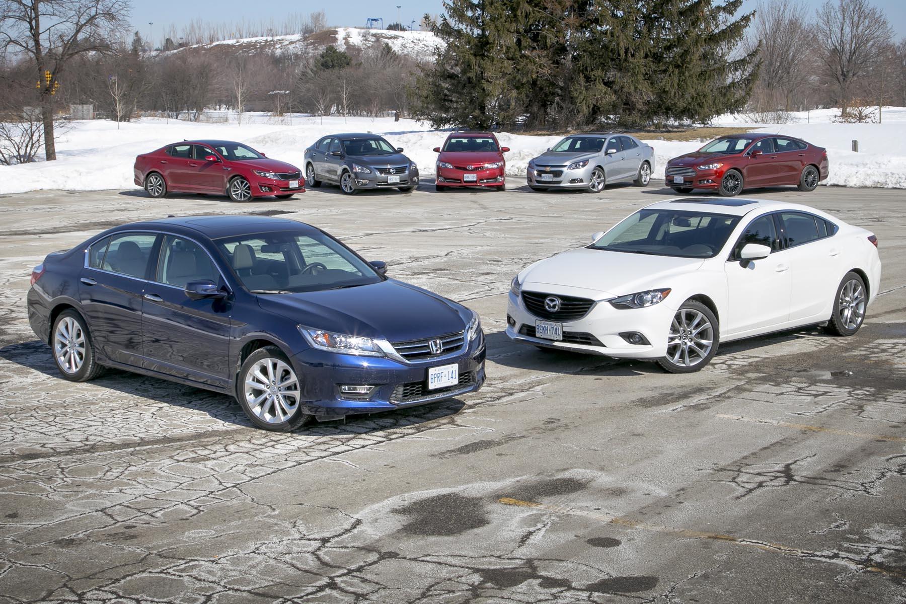 Comparison Test 2014 Midsize Sedans  Page 7 Of 7