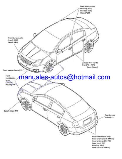 Manual De Reparacion Nissan Sentra 2007 2008 2009