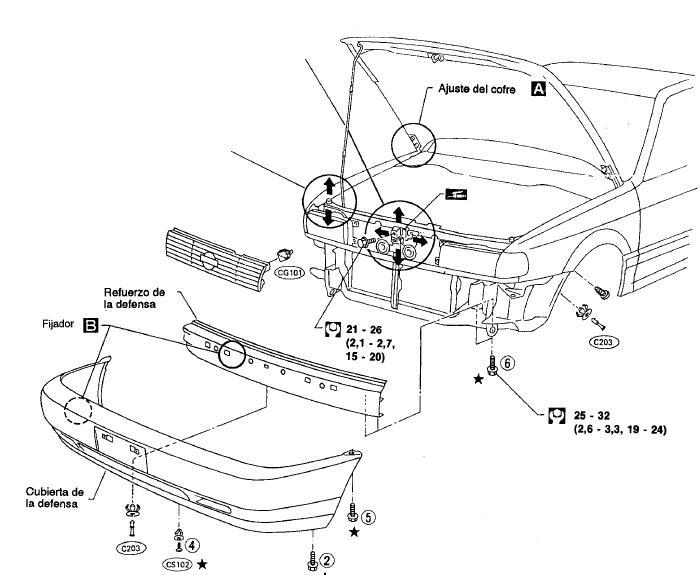 Diagrama carburador nissan sentra b13