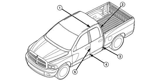 2001 Ram Truck 1500-3500 Manual de reparación y Servicio