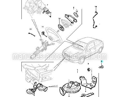 Manual De Reparación Catalogo Chevrolet Zafira