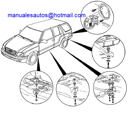 Manual De Reparacion Chevrolet Blazer 2004 2005 2006