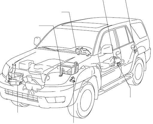 Factory Service Manual Toyota 4Runner 2007 2008