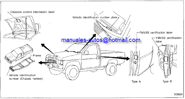 1993 Nissan D21 Owners Manual