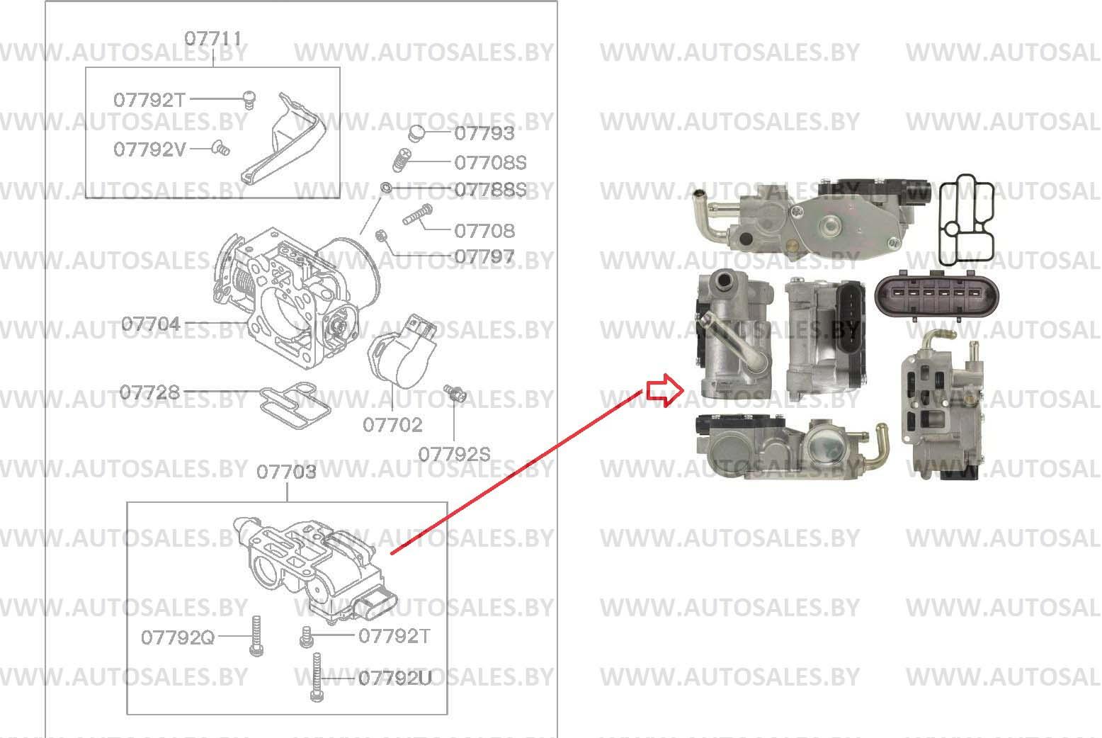 MD308047/MD 308047/AC444/MD614527/MD 614527/AC4140/2H1207