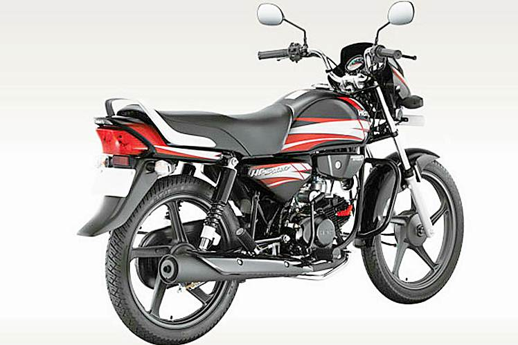Hero HF Deluxe Motorcycle Specification