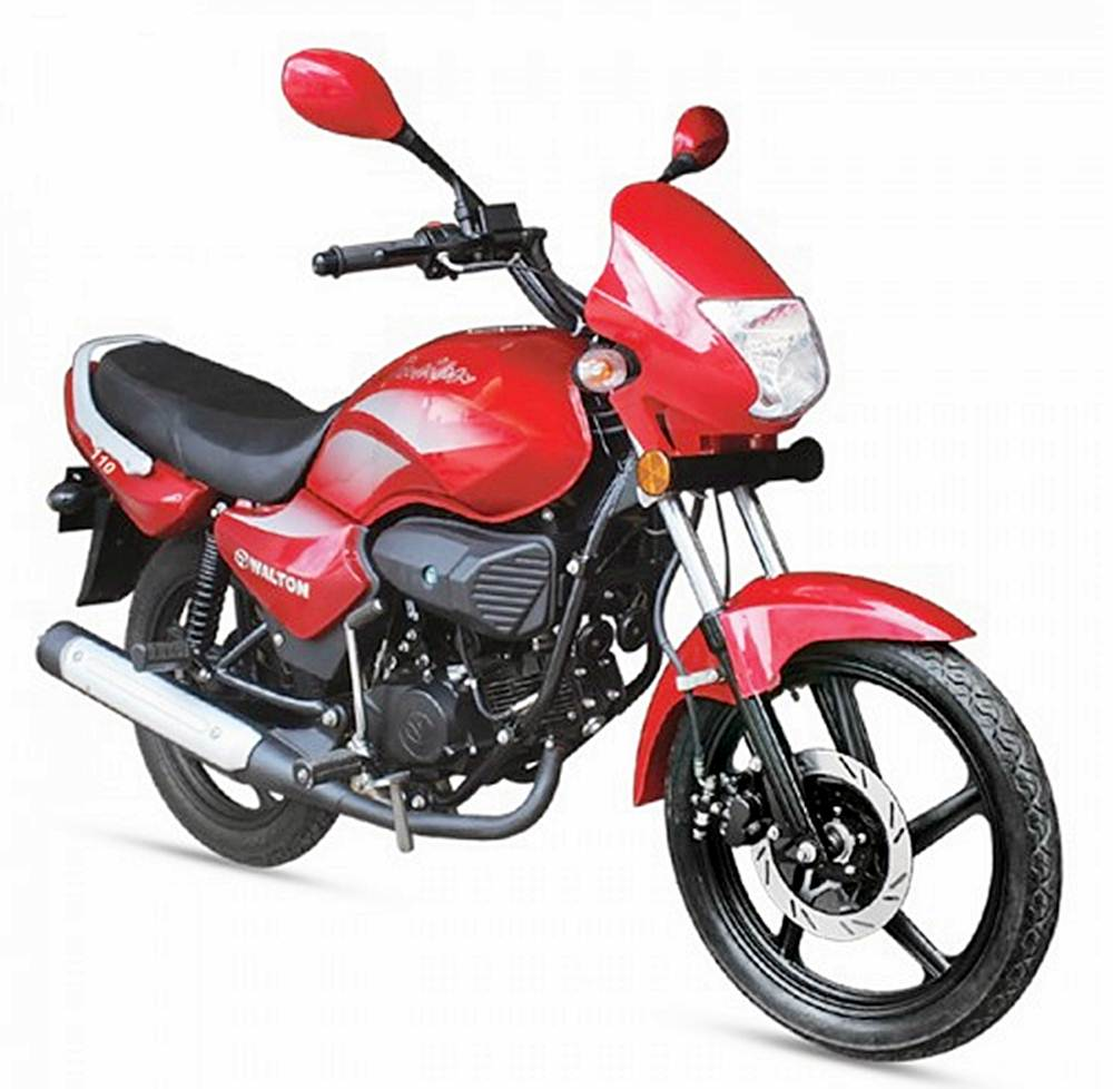 Walton Fusion 100cc Motorcycle Specification