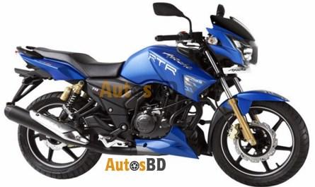 TVS Apache RTR 150 Matte Blue Edition Specification