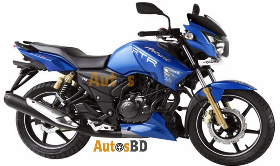 TVS Apache RTR 150 Matte Blue Edition Specification