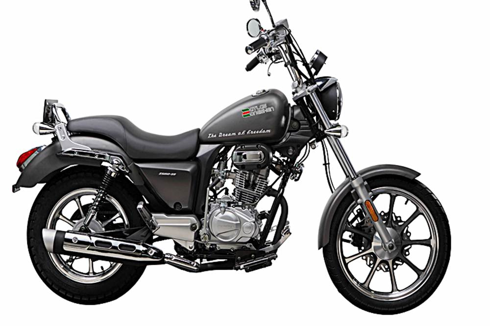 Atlas Zongshen ZS 150-58 Motorcycle Specification