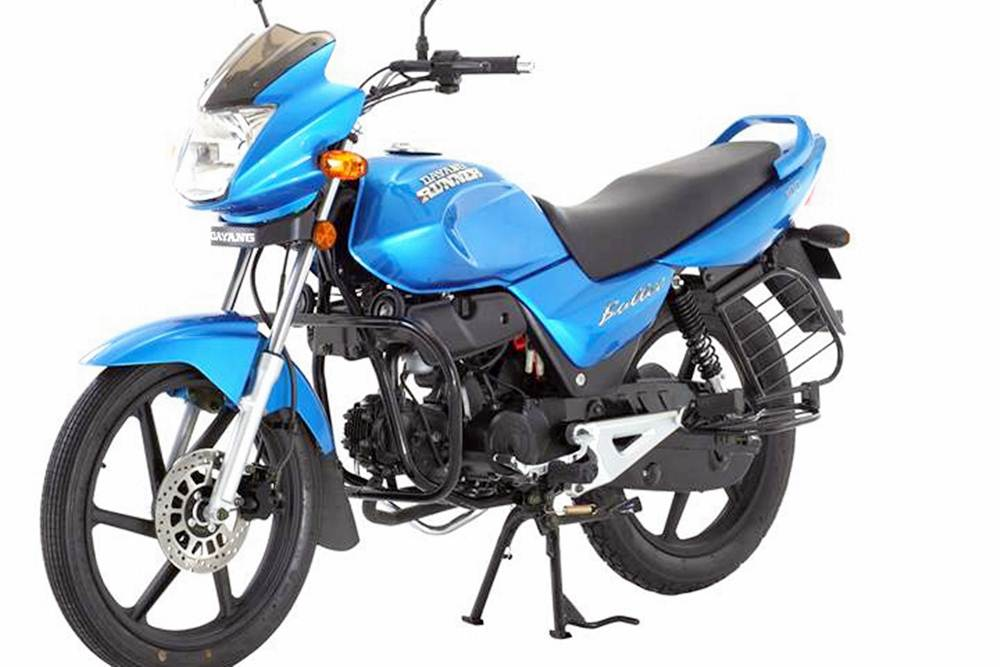 Dayang Runner Bullet 100cc Motorcycle Specification