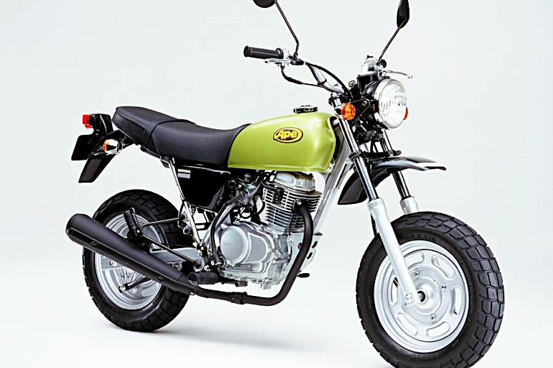 Honda Ape 50 Motorcycle Specification