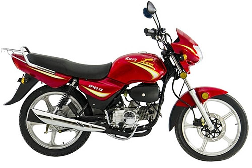 HPM Power Rush Motorcycle Specification