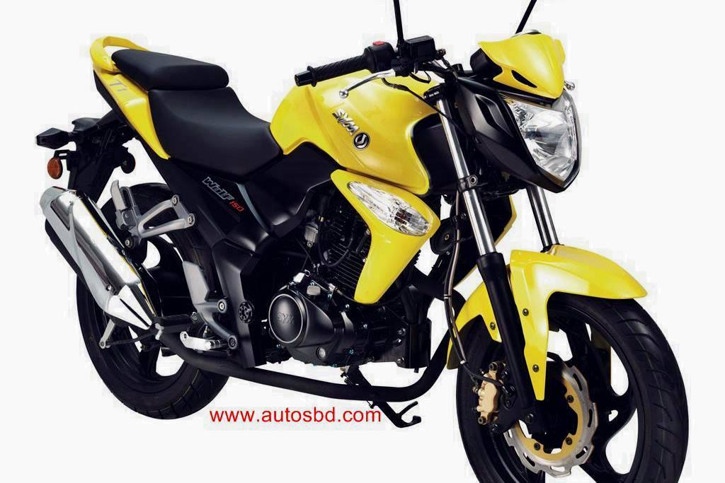 Sym Wolf T1 150cc Motorcycle Specification
