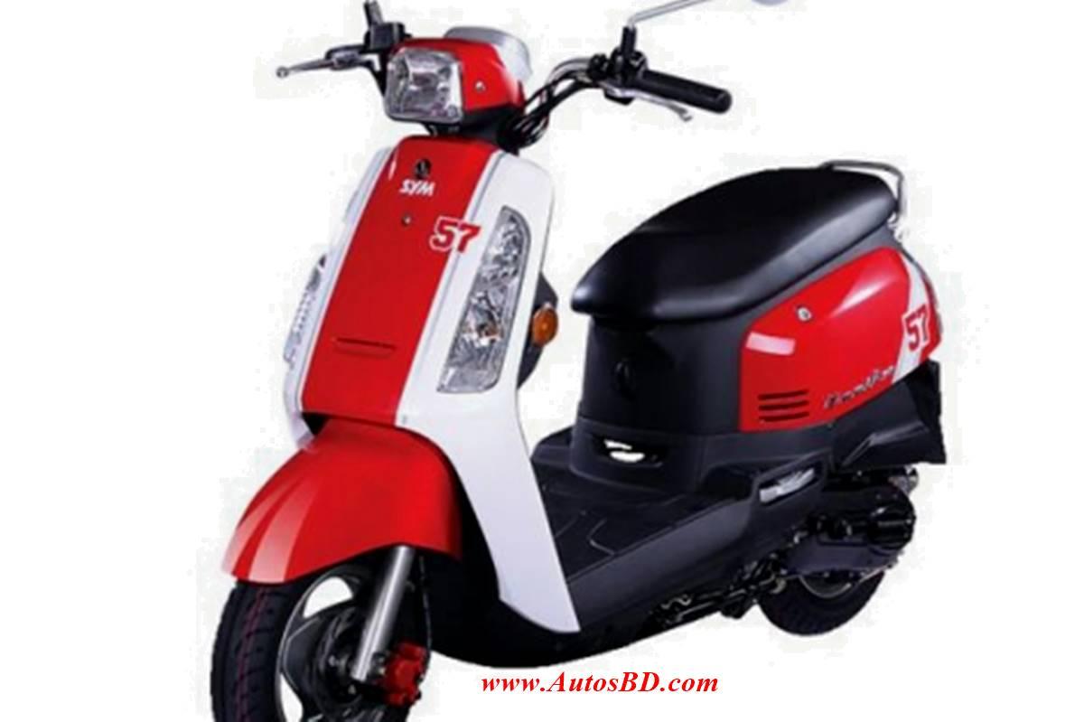 SYM Tonik 125cc Scooter Specification