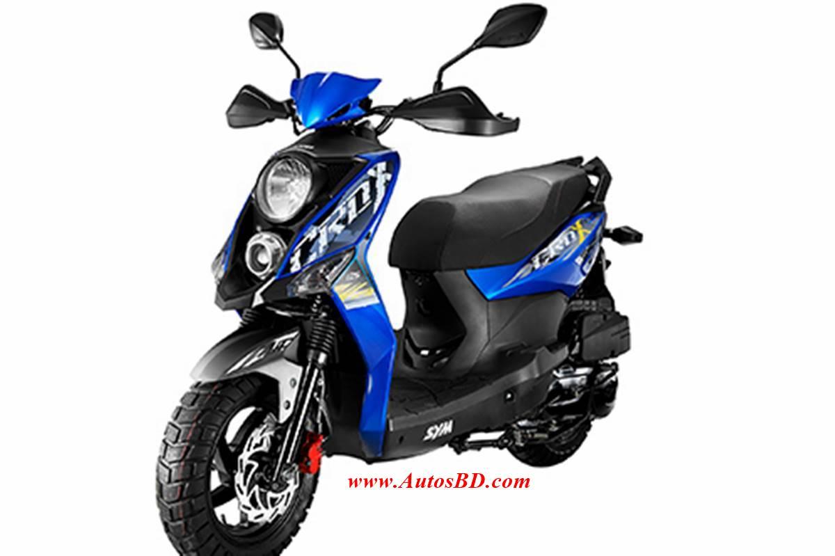 Sym Crox 125 Motorcycle Specification