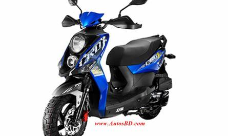 Sym Crox 125 Motorcycle Specification
