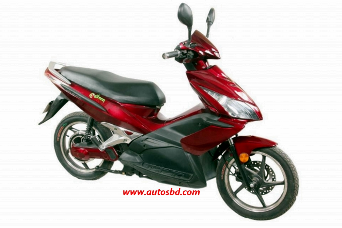 Green Tiger GT - Five Electric Bike Motorcycle Specification