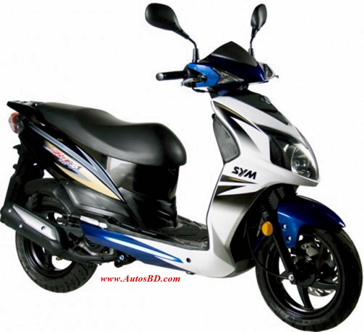 SYM JET 4 125cc Scooter Specification