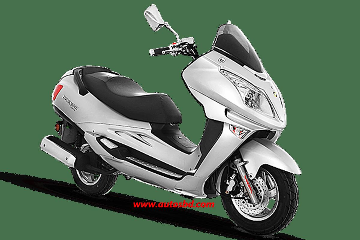 Znen Roar Motorcycle Specification