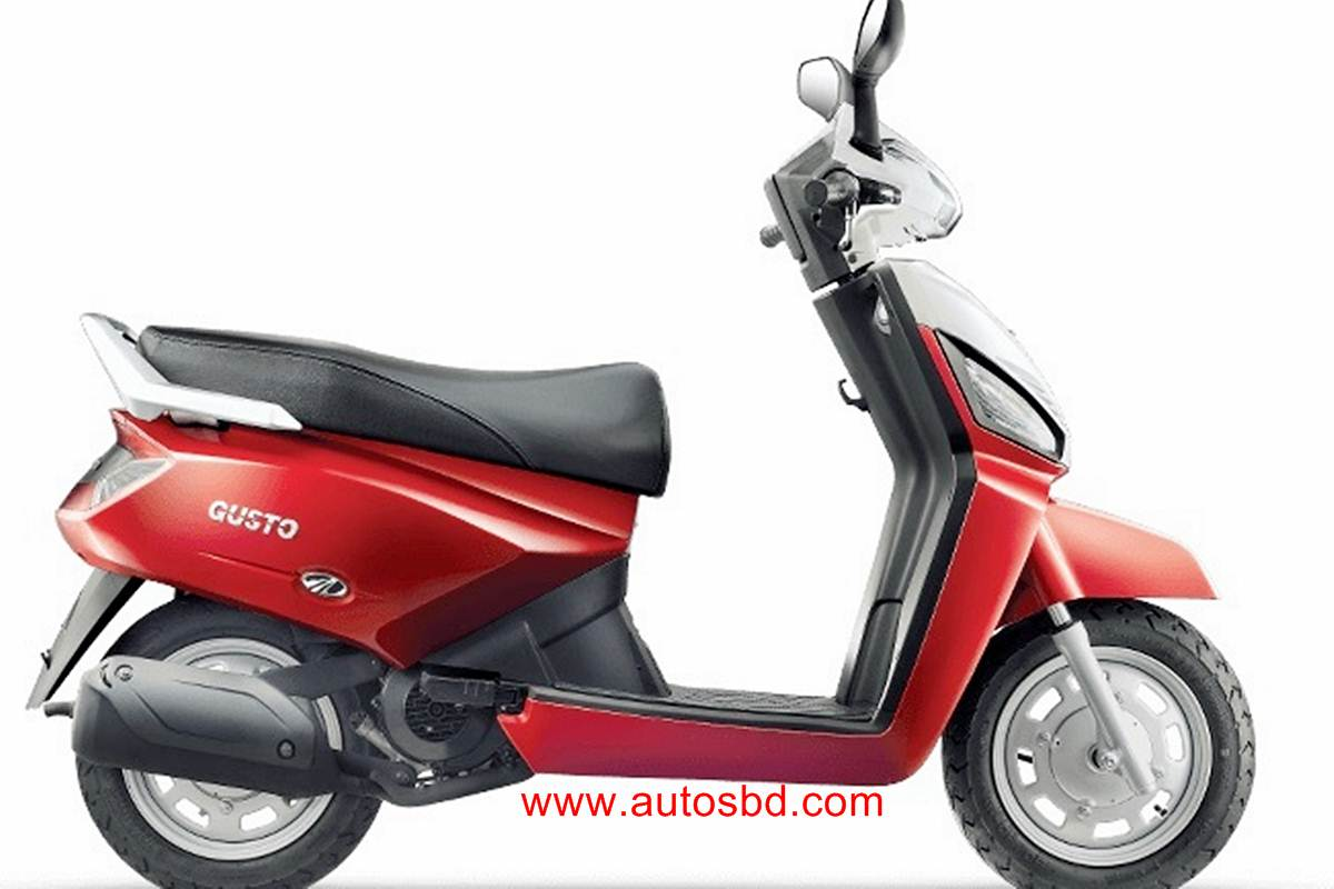 Mahindra Gusto Motorcycle Specification