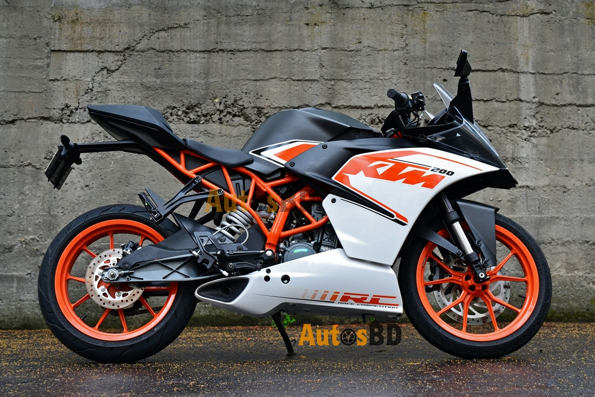 KTM RC 200 (2017) Motorcycle Specification