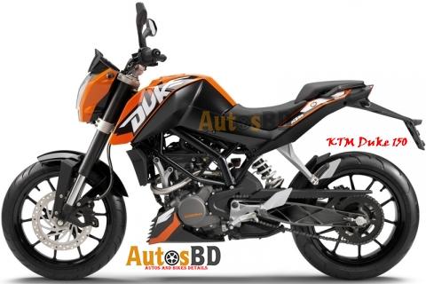 KTM Duke 150 Specification