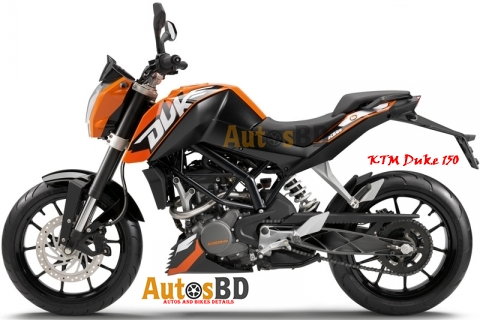 KTM Duke 150 Motorcycle Specification