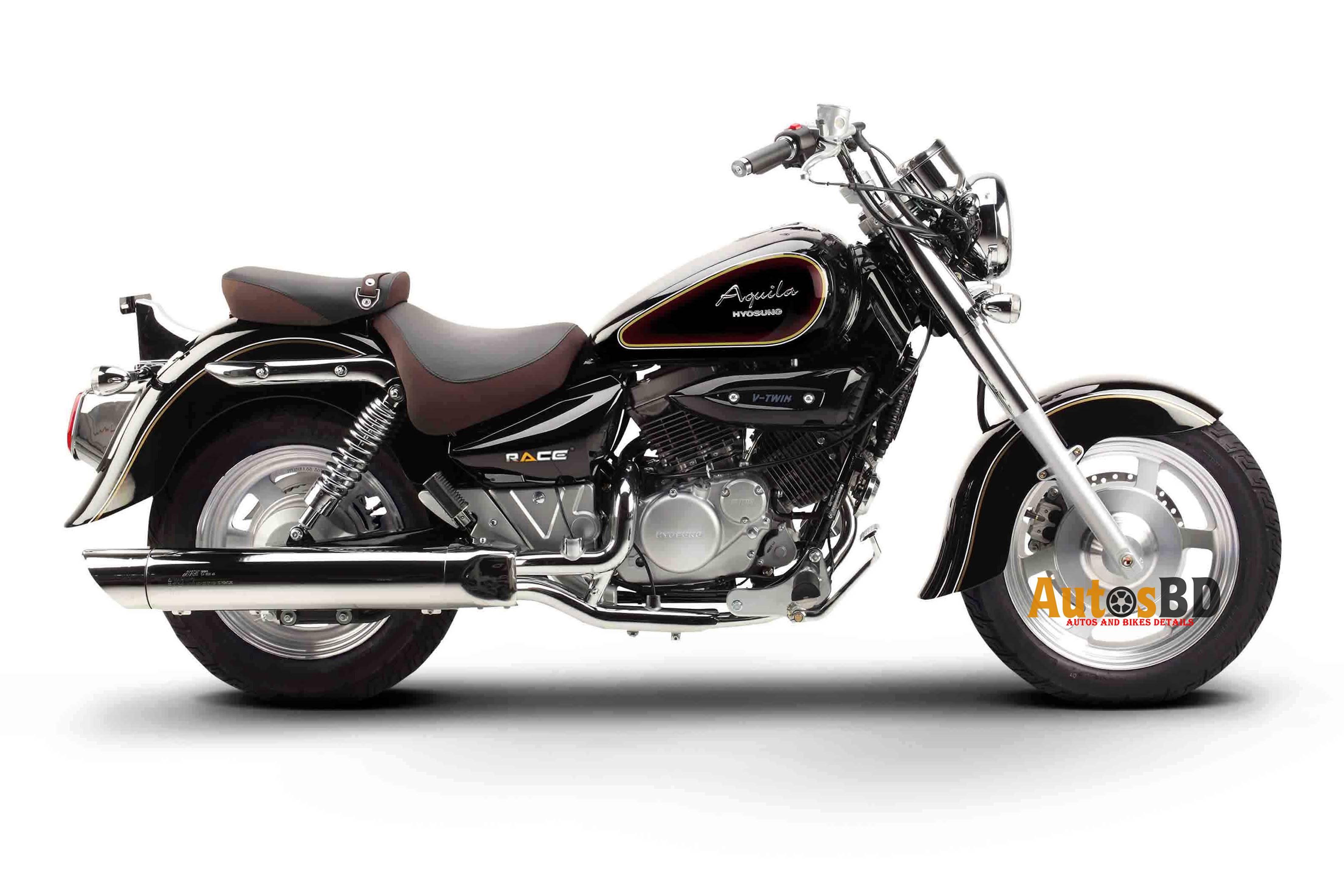 Race Hyosung Aquila 125 Motorcycle Price in Bangladesh
