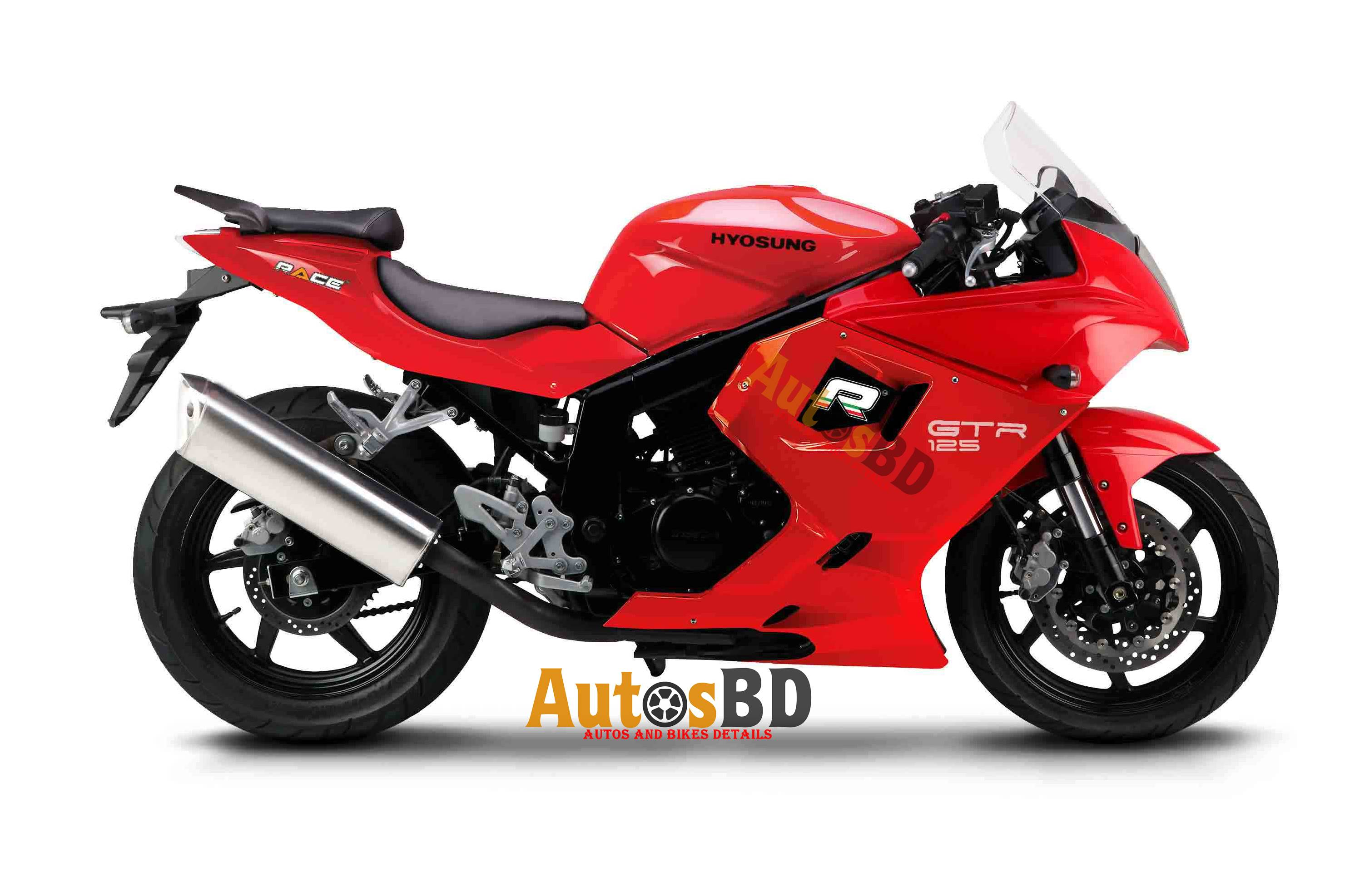Race Hyosung GTR 125 Specification