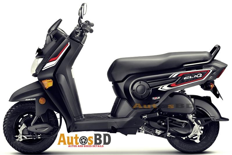 Honda Cliq Motorcycle Specification
