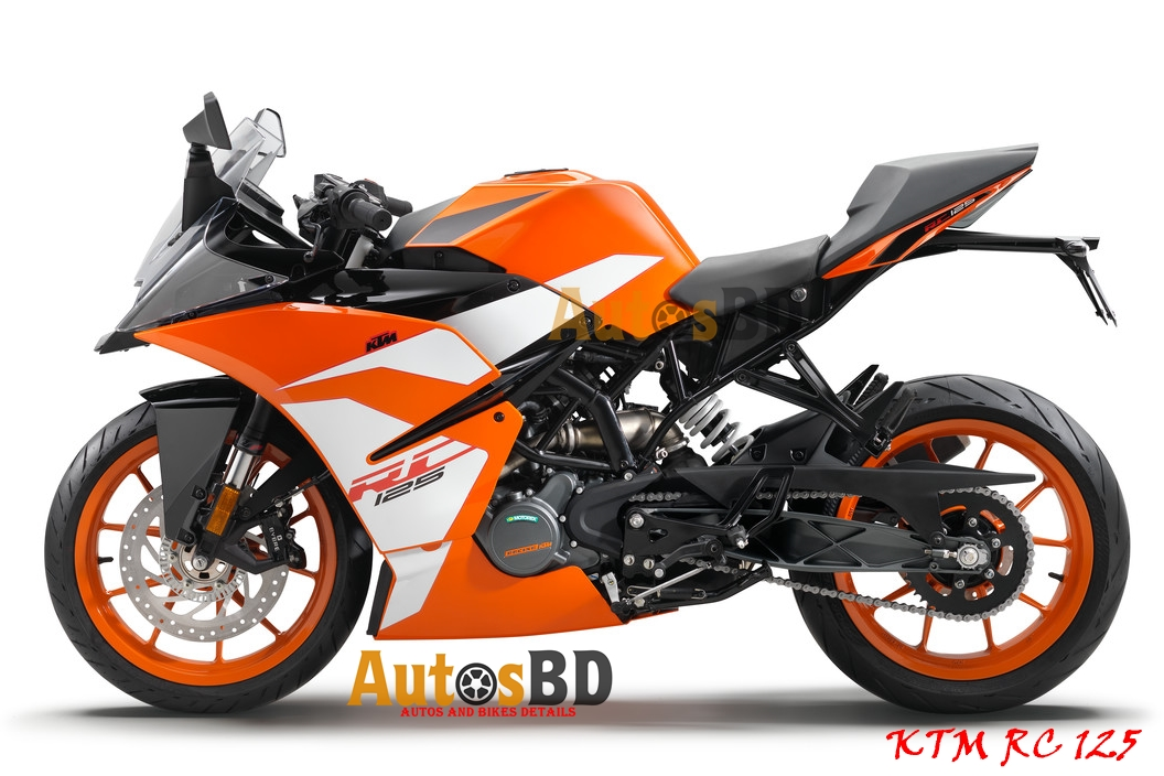KTM RC 125 Motorcycle Specification