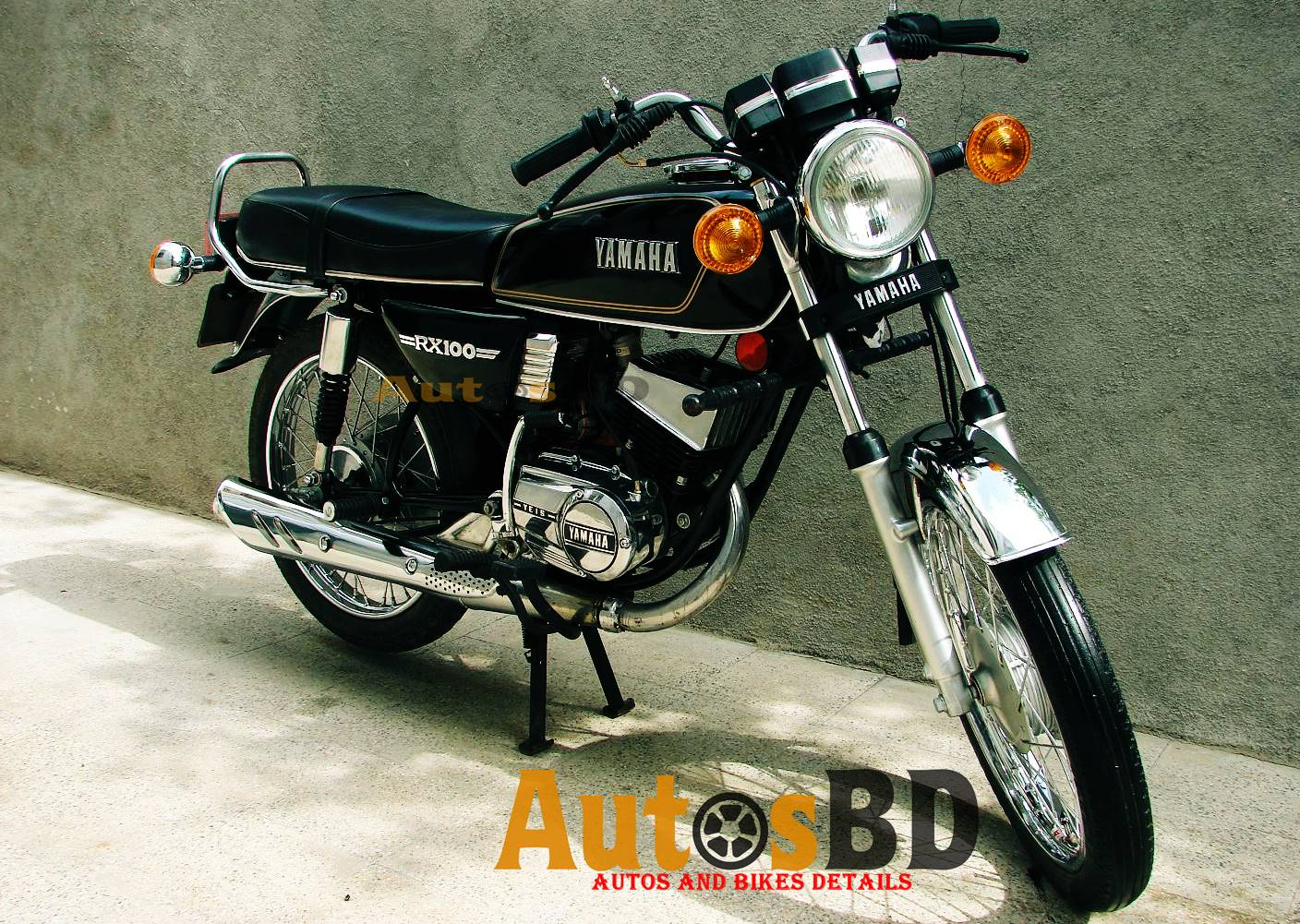 Rx 100 Motorcycle Specification