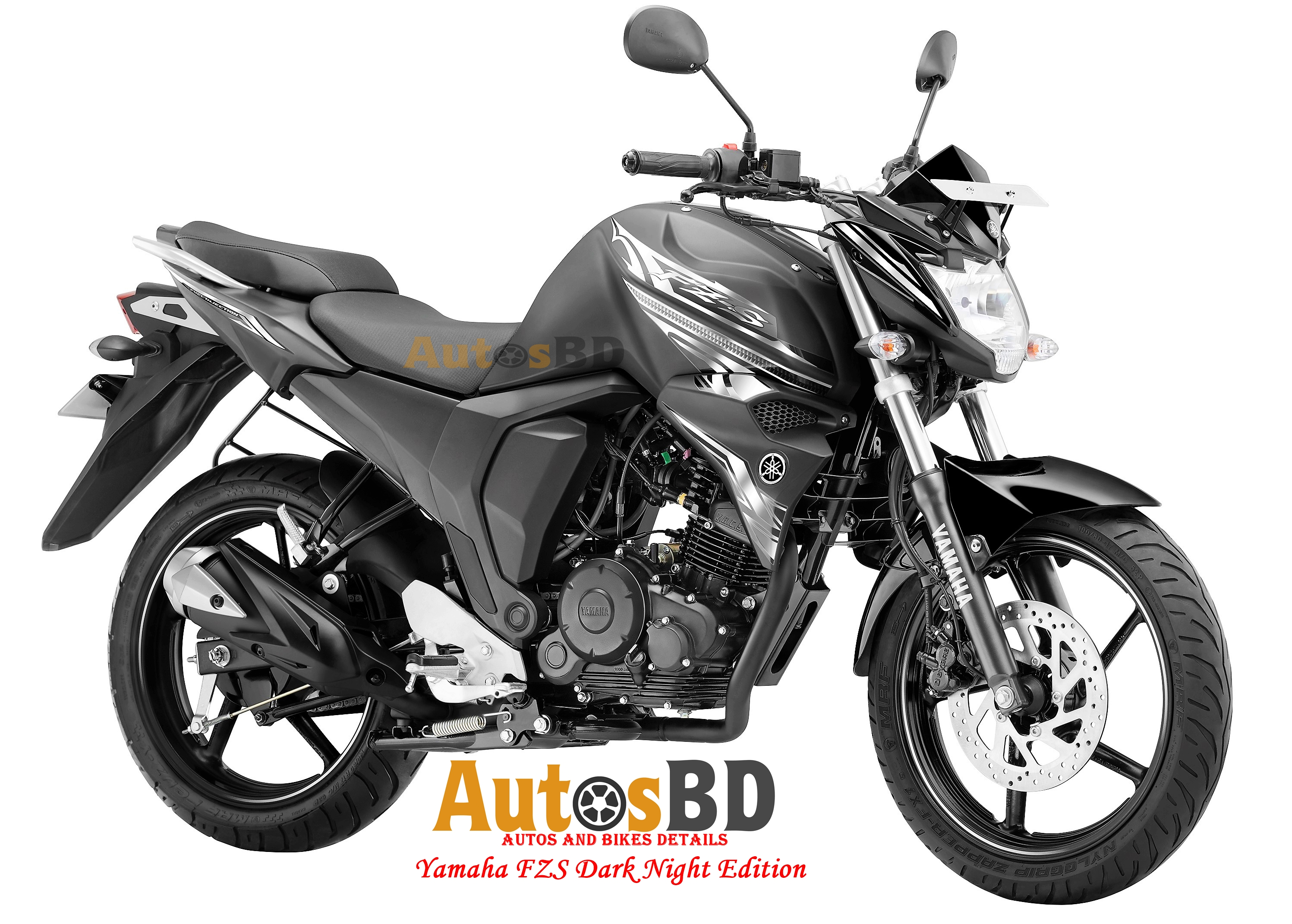 Yamaha FZS Dark Night Edition Motorcycle Price in Bangladesh