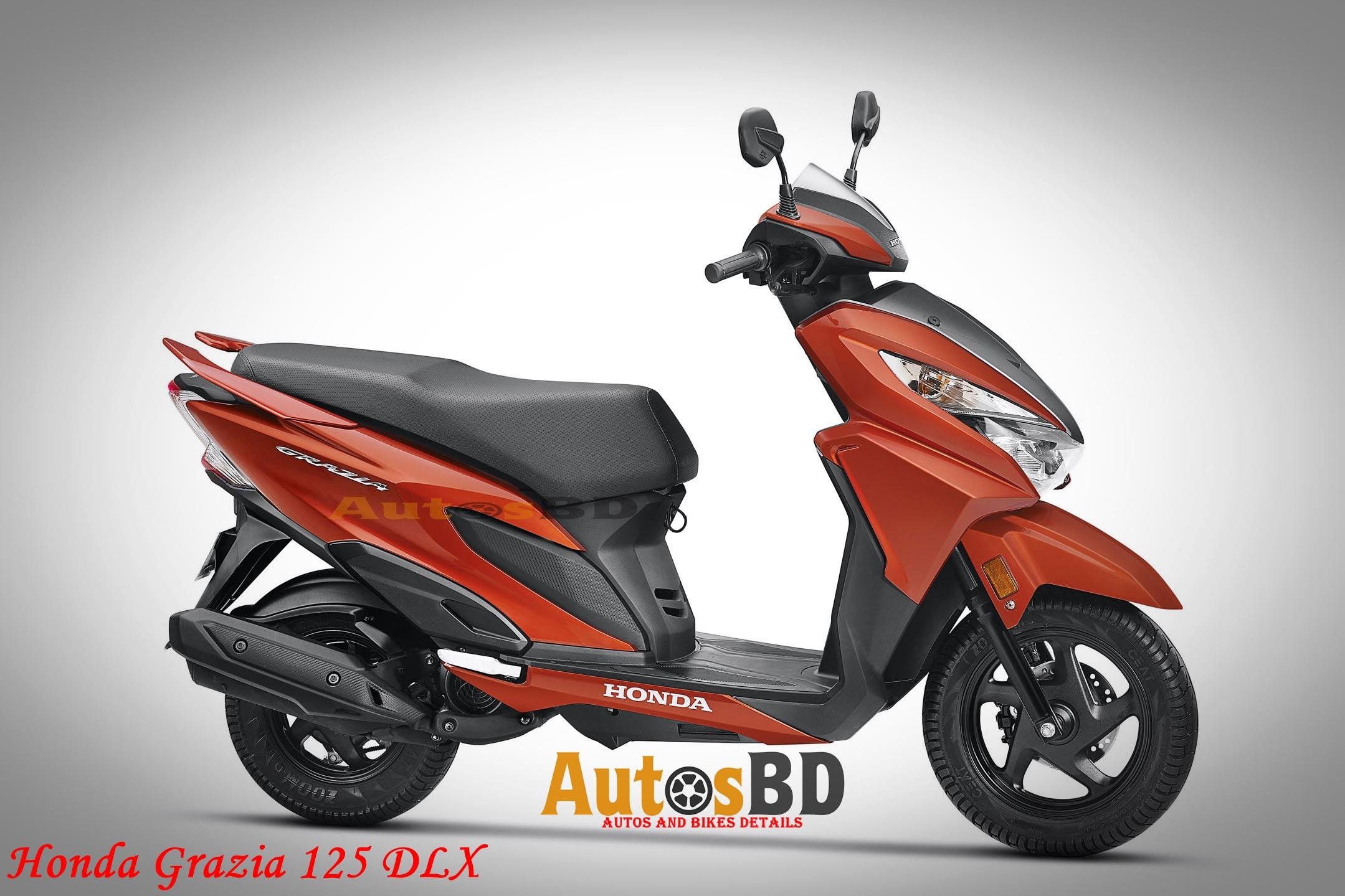 Honda Grazia 125 DLX Motorcycle Specification