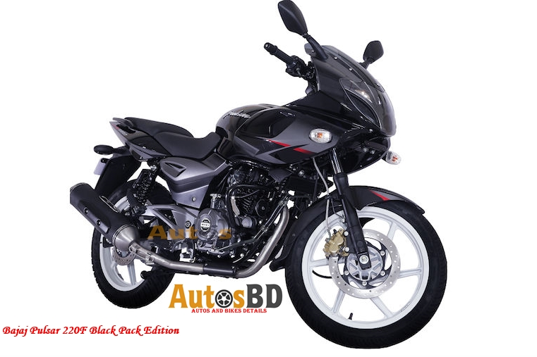 Bajaj Pulsar 220F Black Pack Edition Motorcycle Price in India